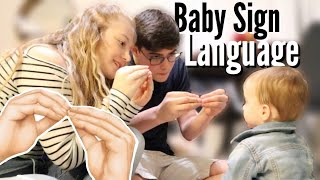 Teaching Our Baby Sign Language! | Teen Mom Vlog