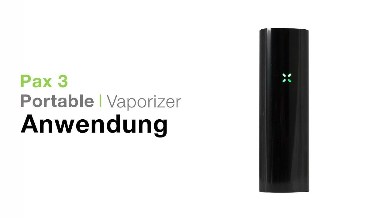 Pax 3 Vaporizer Verdampfer Anwendung - TVape