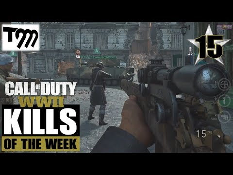 Call of Duty WW2 - TOP 10 KILLS OF THE WEEK #15 (Best Plays on Call of Duty)