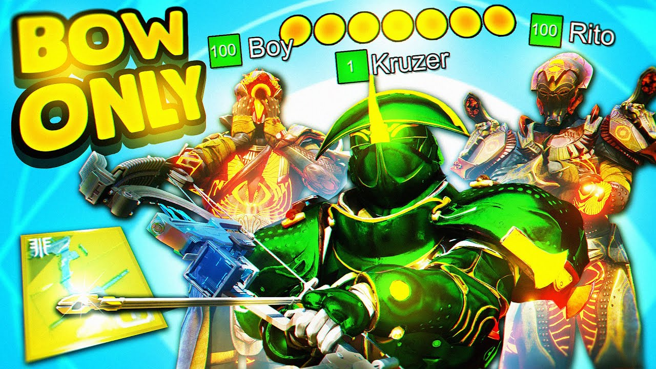 Download the BOW ONLY Flawless Card Challenge with Boy & Rito (Trials of Osiris)