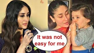Emotional Kareena Kapoor On Taimur Ali Khan At Veere Di Wedding Trailer Launch