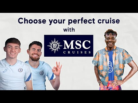 How Well Do Jorginho and Billy Gilmour Know Tammy Abraham? | Tammy's Perfect MSC Cruise