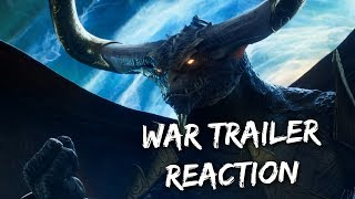 War of the Spark Trailer Reaction | WAR Trailer Reaction Video