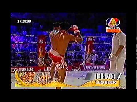 Keo Rumchong ( Cambodia ) Vs Chhaloeung Det (Thai) -Bayon TV 29 August 2015