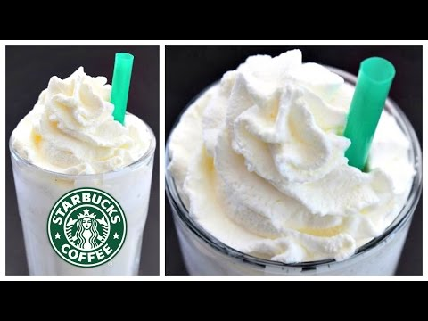 Starbucks coffee-free vanilla bean frappuccino recipe
