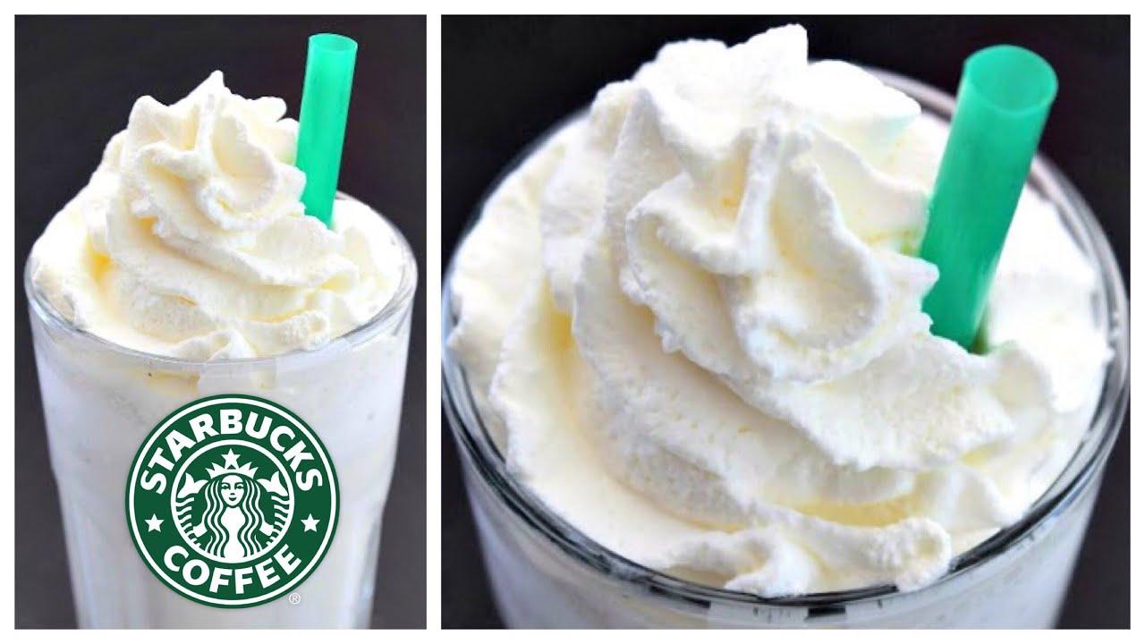 Starbucks Vanilla Bean Frappuccino Recipe!