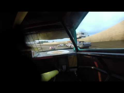 34 Raceway, Burlington Iowa, Stock Car Heat #1