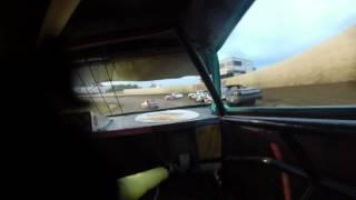 34 Raceway, Burlington Iowa, Stock Car Heat #1
