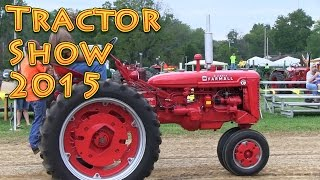 Tractor Show 2015 Antiques Steam Engines Farm Machines and More