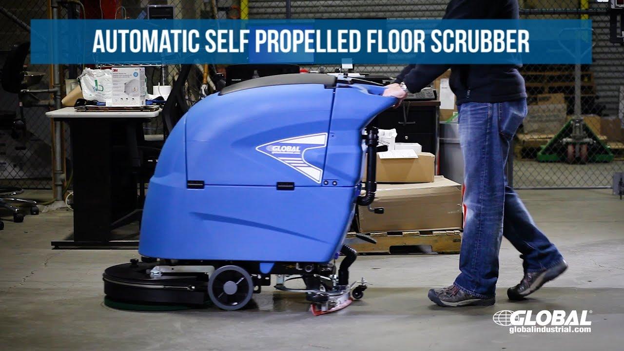 Global Industrial Auto Floor Scrubber Self Propelled Floor