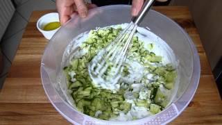 Zaziki auf türkische Art-Cacik-meinerezepte