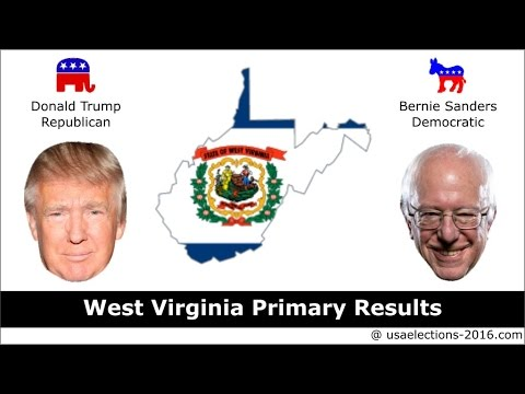West Virginia Primary Result 2016 : US Election 2016