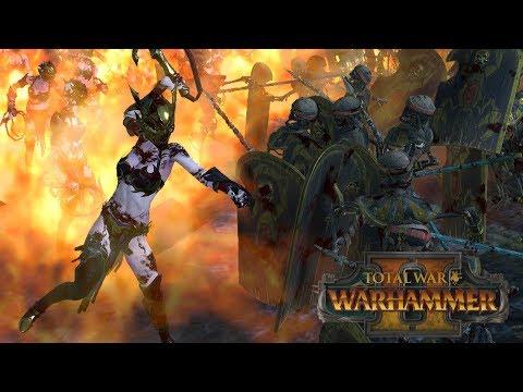 The Comeback Kings - Tomb Kings vs Dark Elves // Total War: Warhammer II Online Battle |