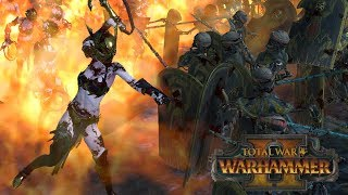 The Comeback Kings - Tomb Kings vs Dark Elves // Total War: Warhammer II Online Battle