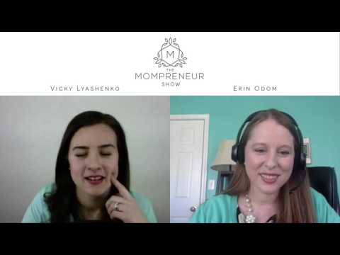 8 How to Create a Full Time Income Blogging with Erin Odom of The Humbled Homemaker