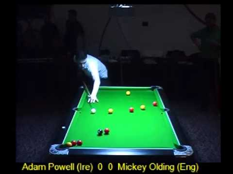 UPC International Masters 2015 - Adam Powell (Ire) vs Mickey Olding (Eng)