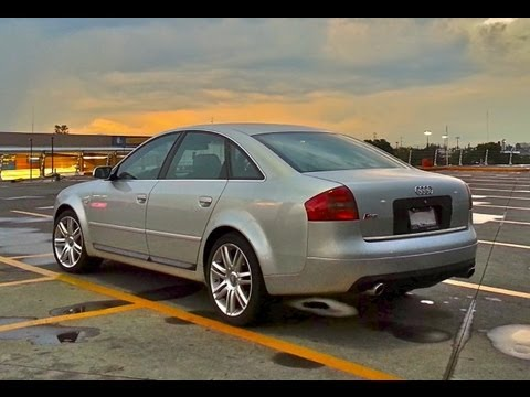 Audi S6 4 2 V8 Exhaust Mufflers Removed Youtube