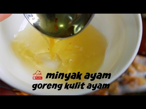 how to make chicken oil | minyak ayam wangi