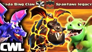 Repeat youtube video Dominating 3 Star Air Attack Strategies | Bada Bing Clan vs Spartans Legacy | Clash of Clans