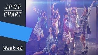 J-POP CHART | J-POP ORICON | Week 48 - Top 50