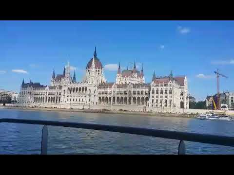 View of the Parliament from a ship in Budapest