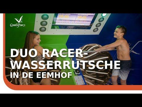 Video: Nahaufnahme: Neues – die neue Duo Racer-Rutsche in De Eemhof | Center Parcs