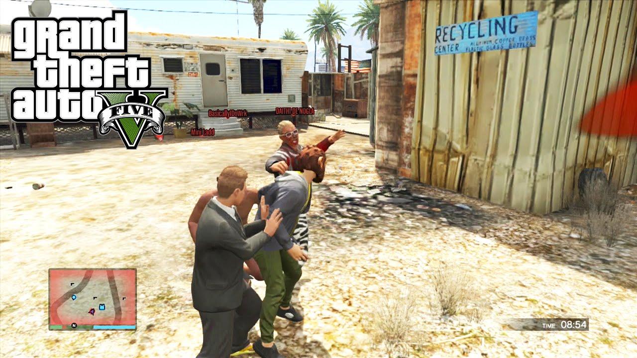 GTA 5 Online Versus: Stab City LTS - Lui and Droidd vs ... Lui Calibre Gta 5