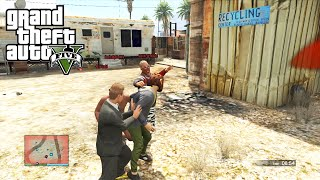 GTA 5 Online Versus: Stab City LTS - Lui and Droidd vs Basically, Daithi and Mini