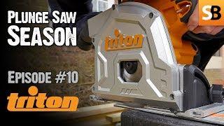 Triton TTS1400 Plunge Cut Track Saw - Episode 10