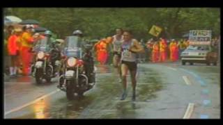 Rod Dixon 1983 NY Marathon Finish