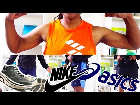 DUMPSTER DIVING for Name Brands   Nike, Asics, Wrangler, Brooks and MORE!!!