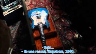 """Only Lovers Left Alive"" Jim Jarmusch (2013) - Guitars Scene"