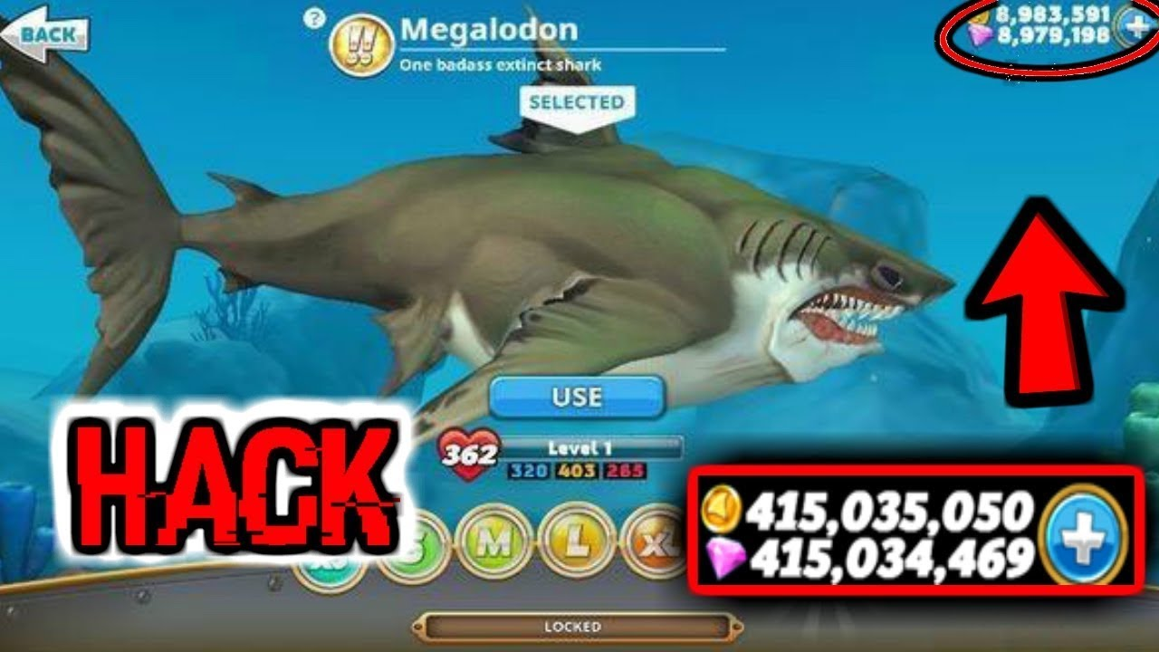 Hungry Shark World No Root Hack Unlimited Money Latest Youtube