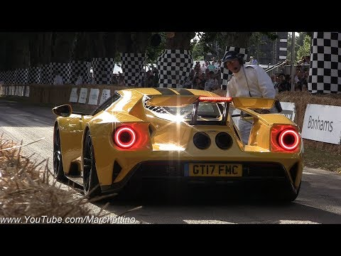 2017 Goodwood Festival of Speed Supercar MADNESS! - Centenario, Chiron, Ford GT, Zonda 760 & More!