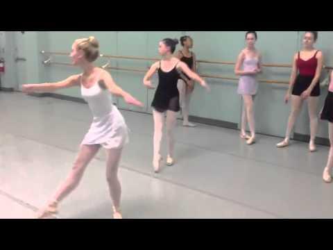 Cleveland School of Dance class