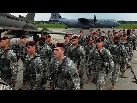 U.S. Troops Arrive in Poland