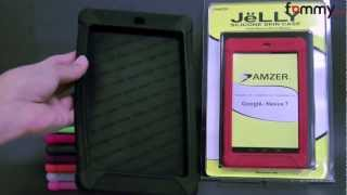 Amzer® Silicone Skin Jelly Case for Google Nexus 7 Review