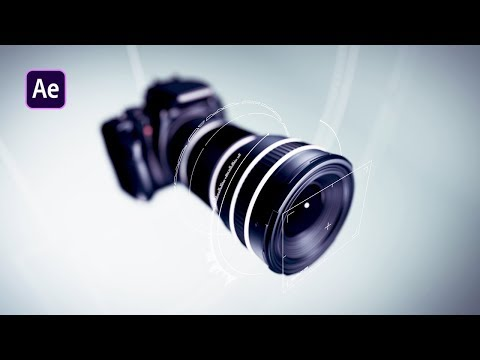 Photo Camera Logo Animation In After Effects - After Effects Tutorial - Urdu / Hindi thumbnail