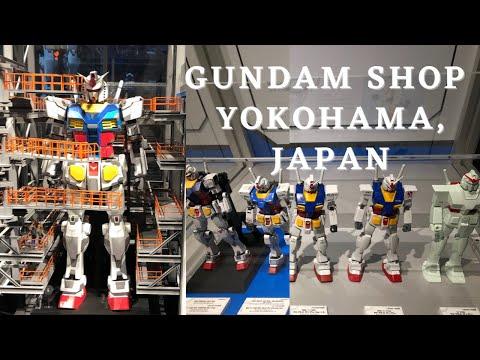 GUNDAM SHOP IN YOKOHAMA