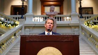Georgia governor COVID update …