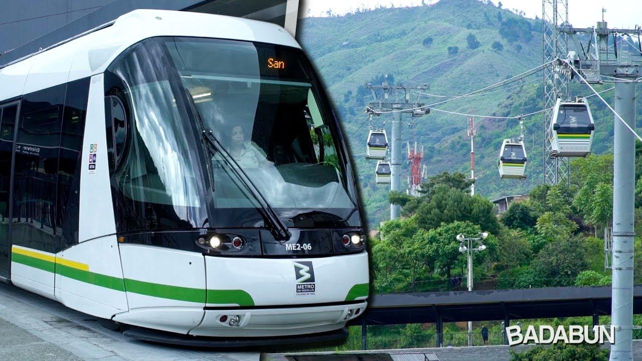 Así es el transporte público en Colombia. El mejor del