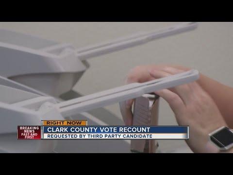 Clark county joins Nevada recount