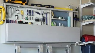 Garage Workbench and Tool Storage