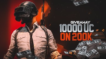 18+ PUBG MOBILE LIVE | 10000UC GIVEAWAY ON 200K SUBSCRIBERS | SHADOW GAMING
