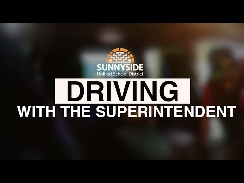 Driving with the Superintendent (Desert View High School)