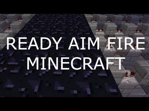 Ready Aim Fire - Imagine Dragons Minecraft Note Blocks + Lyrics
