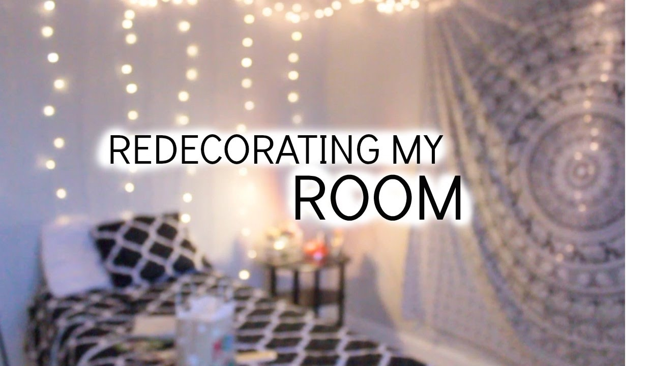 Interior Redecorating My Room redecorating my room azlia williams youtube