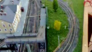 Макет железной дороги в масштабе 1:87(Макет железной дороги в масштабе 1:86, построенный в Уфимском Техникуме Железнодорожного Транспорта. Функци..., 2008-12-26T12:48:58.000Z)