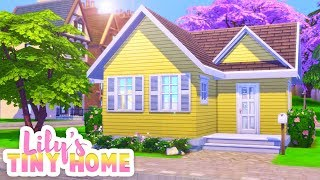 LILY'S NEW TINY HOME🏡 [DISCOVER UNIVERSITY] // THE SIMS 4 | SPEED BUILD