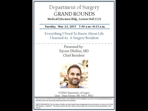 MDM24x7 Tejveer Dhillon Surgery Chief Resident Grand Rounds